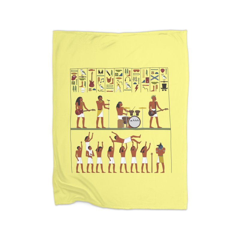 Ancient Rock Home Blanket by Threadless Artist Shop