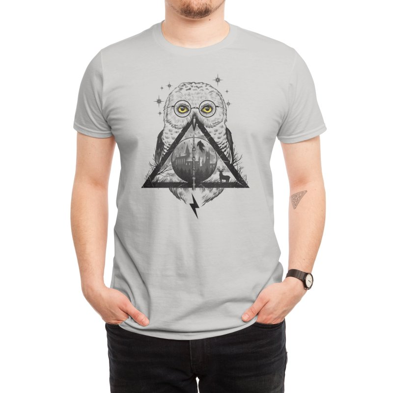 Owls and Wizardry Men's T-Shirt by Threadless Artist Shop
