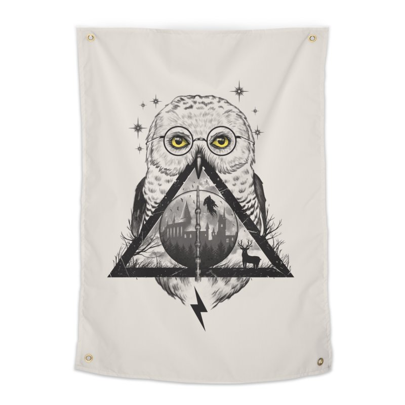Owls and Wizardry Home Tapestry by Threadless Artist Shop