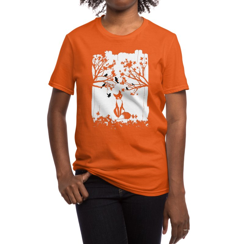 The Lonely Fox Women's T-Shirt by Threadless Artist Shop