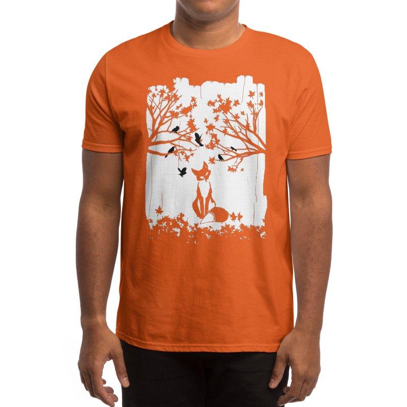 The Lonely Fox Men's T-Shirt by Threadless Artist Shop