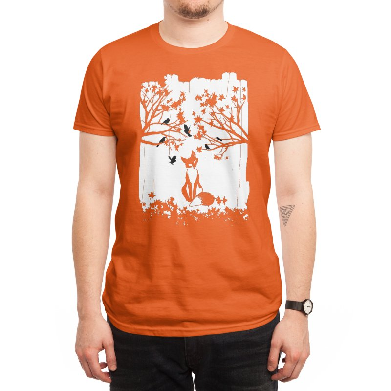 The Lonely Fox Men's T-Shirt by Threadless Artist Shop