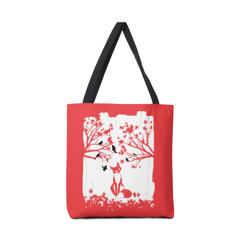 The Lonely Fox Accessories Bag by Threadless Artist Shop