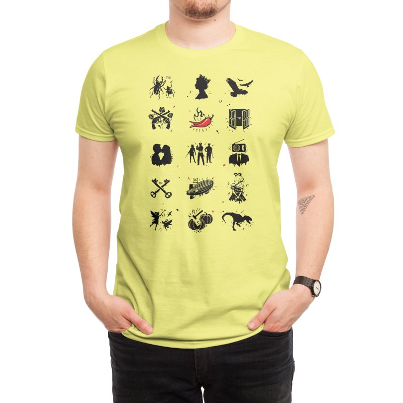 Bands Men's T-Shirt by Threadless Artist Shop