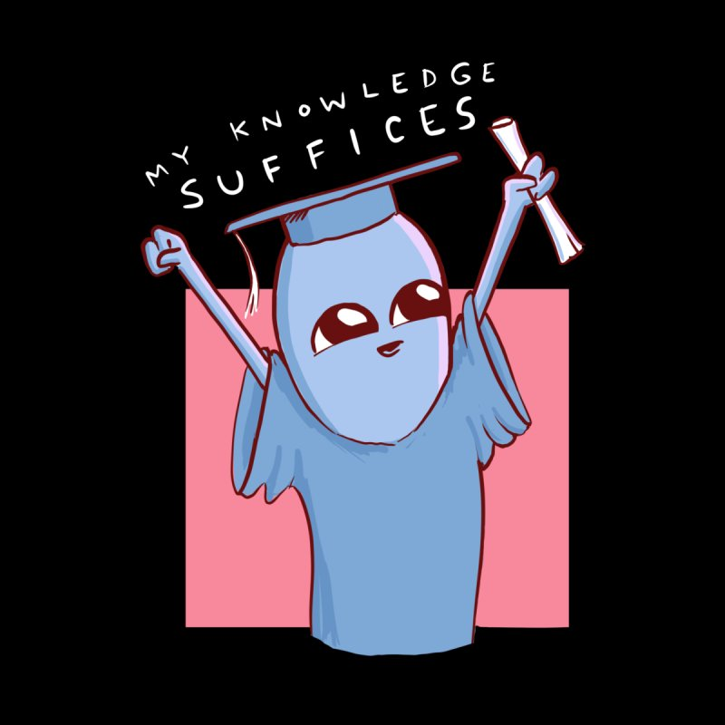 Strange Planet: My Knowledge Suffices Accessories Mug by Threadless Artist Shop