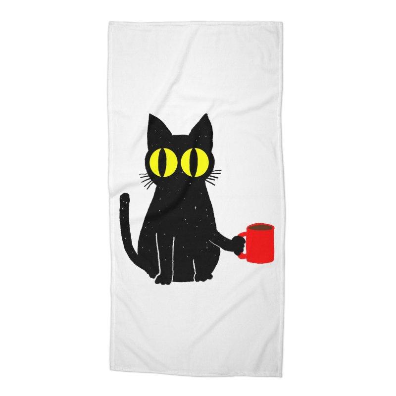 Catfeine Accessories Beach Towel by Threadless Artist Shop