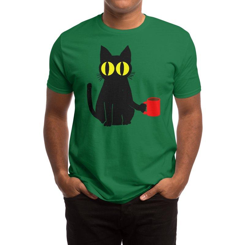 Catfeine Men's T-Shirt by Threadless Artist Shop