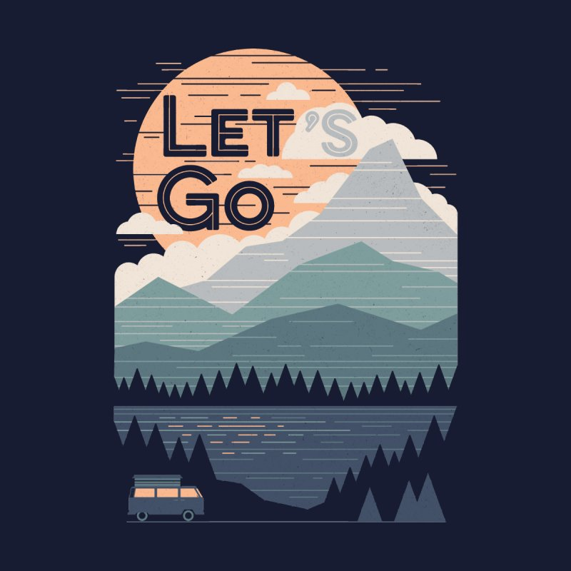 Let's Go Home Fine Art Print by Threadless Artist Shop