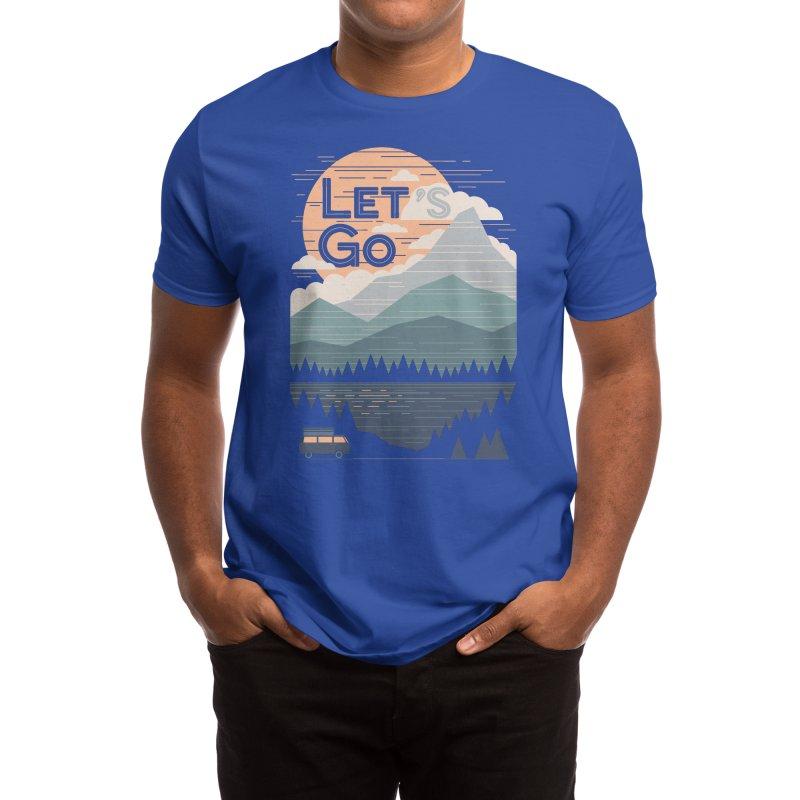 Let's Go Men's T-Shirt by Threadless Artist Shop
