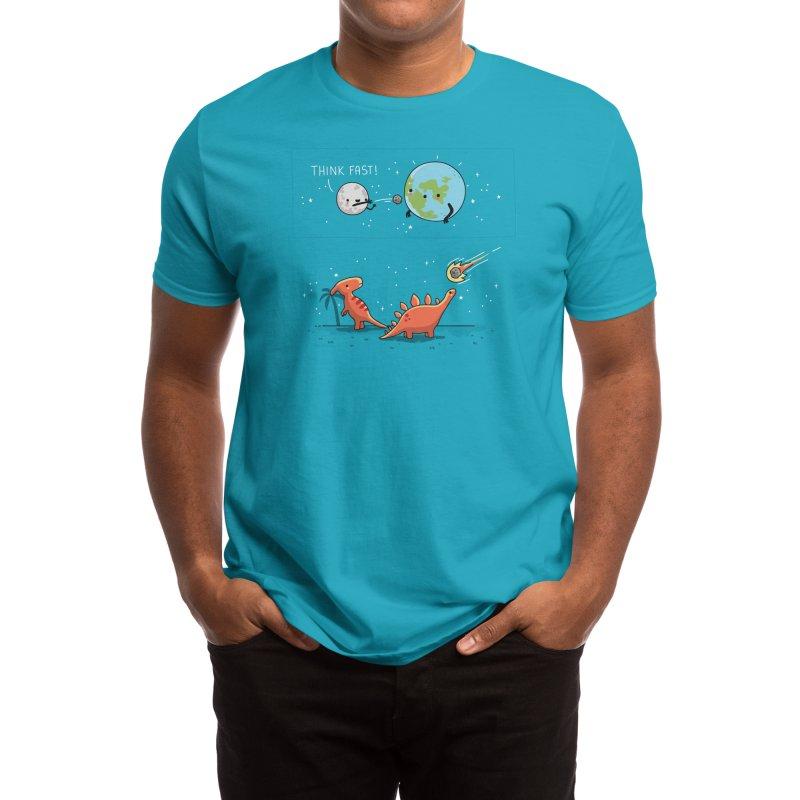 Think fast Men's T-Shirt by Threadless Artist Shop