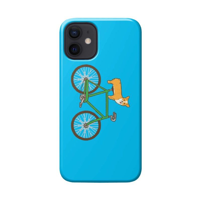 Corgi on a Bike Accessories Phone Case by Threadless Artist Shop