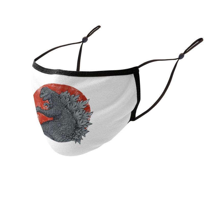 Tokyo Kaiju Accessories Face Mask by Threadless Artist Shop
