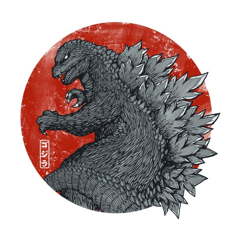 Tokyo Kaiju Men's V-Neck by Threadless Artist Shop