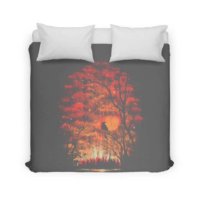 Burning in the Skies Home Duvet by Threadless Artist Shop