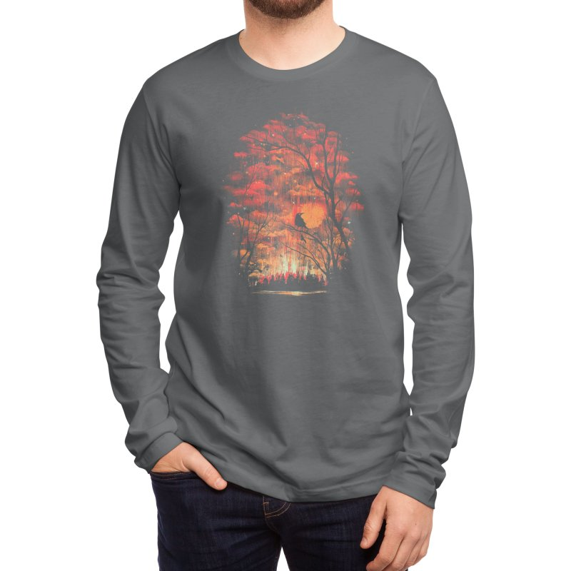 Burning in the Skies Men's Longsleeve T-Shirt by Threadless Artist Shop