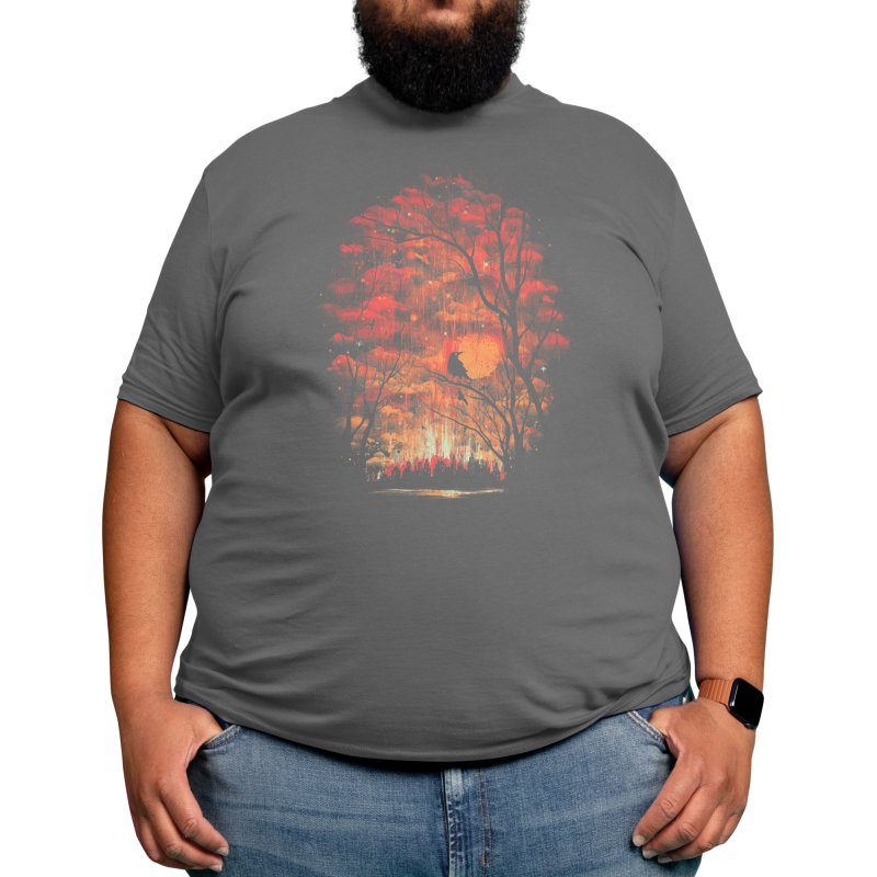 Burning in the Skies Men's T-Shirt by Threadless Artist Shop