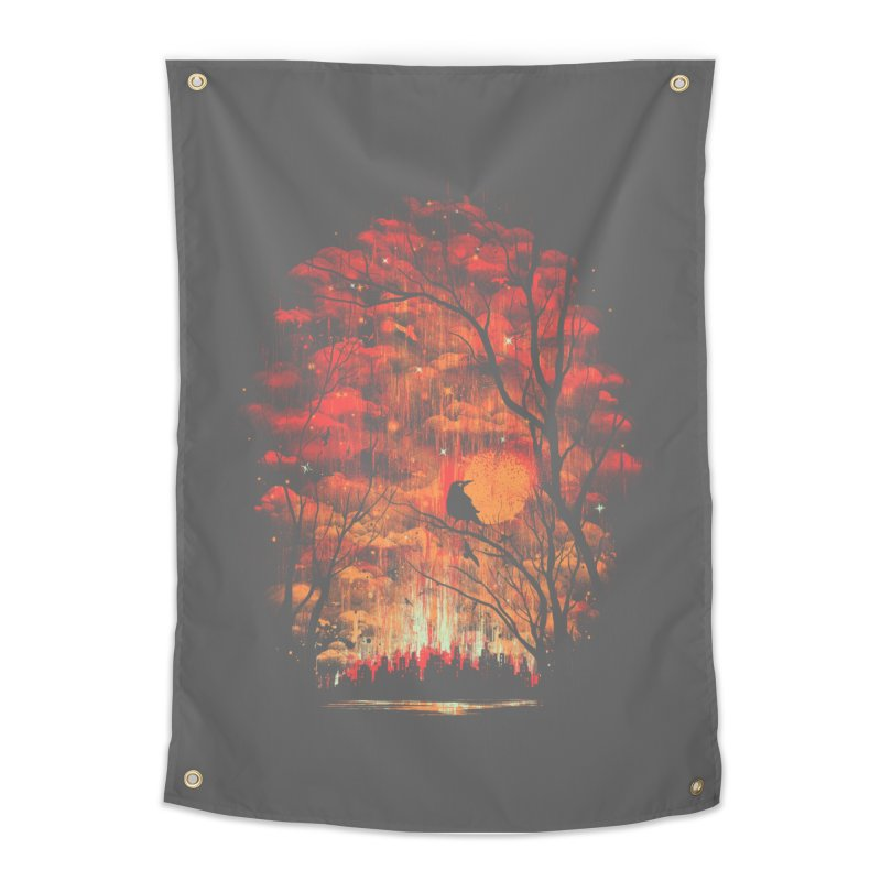 Burning in the Skies Home Tapestry by Threadless Artist Shop