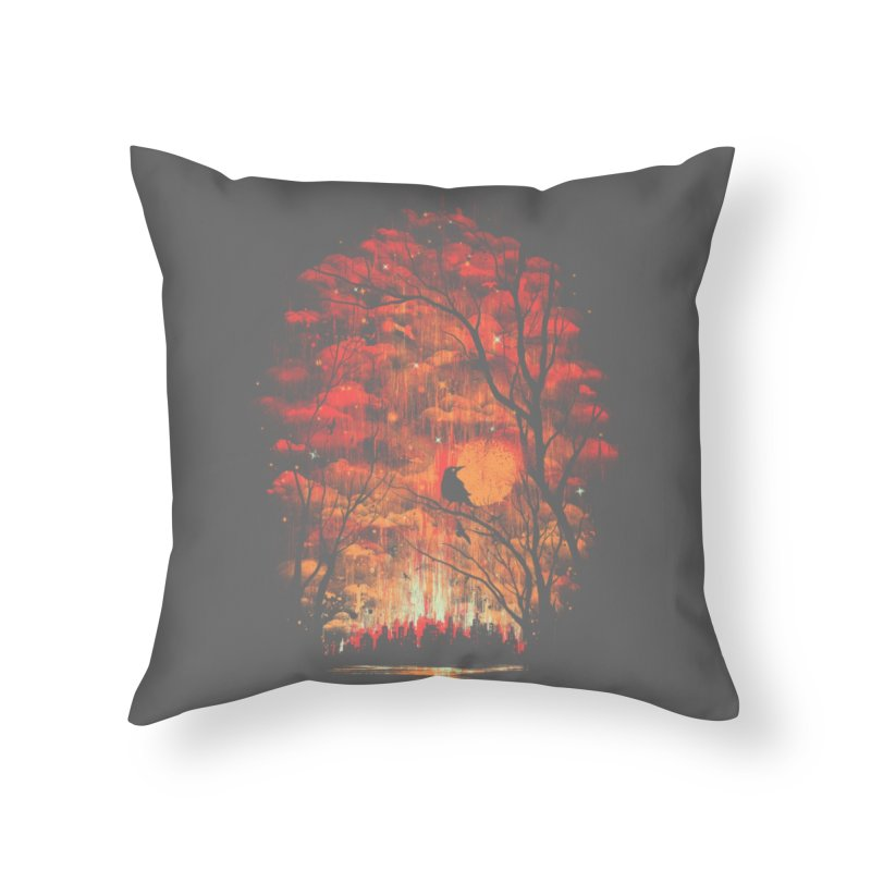 Burning in the Skies Home Throw Pillow by Threadless Artist Shop