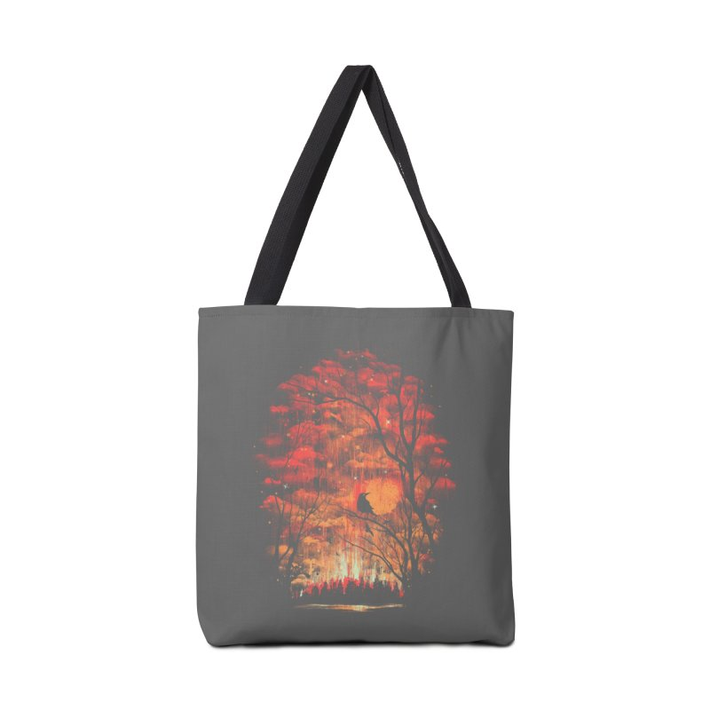 Burning in the Skies Accessories Bag by Threadless Artist Shop