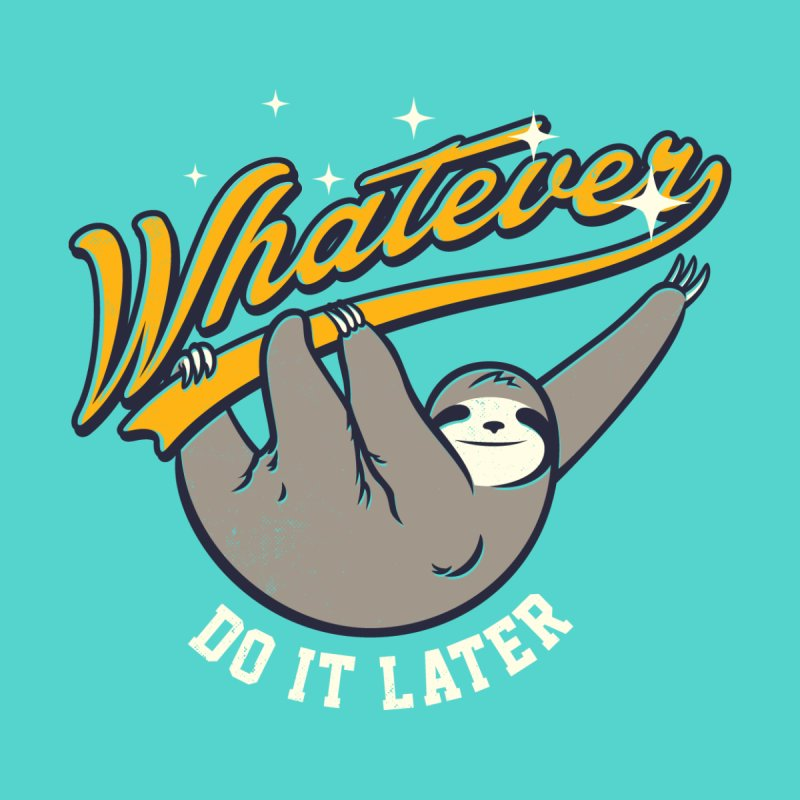 Whatever Men's Sweatshirt by Threadless Artist Shop