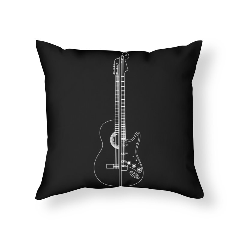Living In Harmony Home Throw Pillow by Threadless Artist Shop