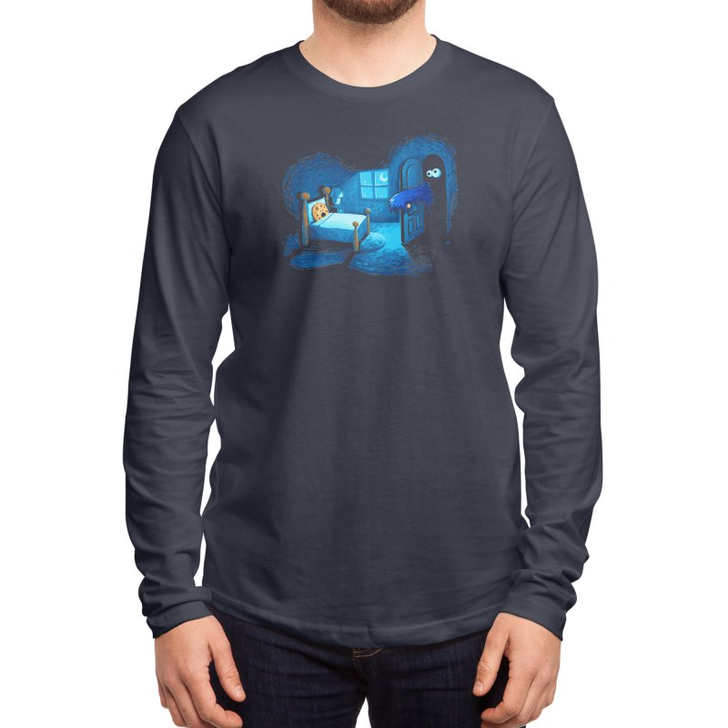 Monster in the Closet Men's Longsleeve T-Shirt by Threadless Artist Shop
