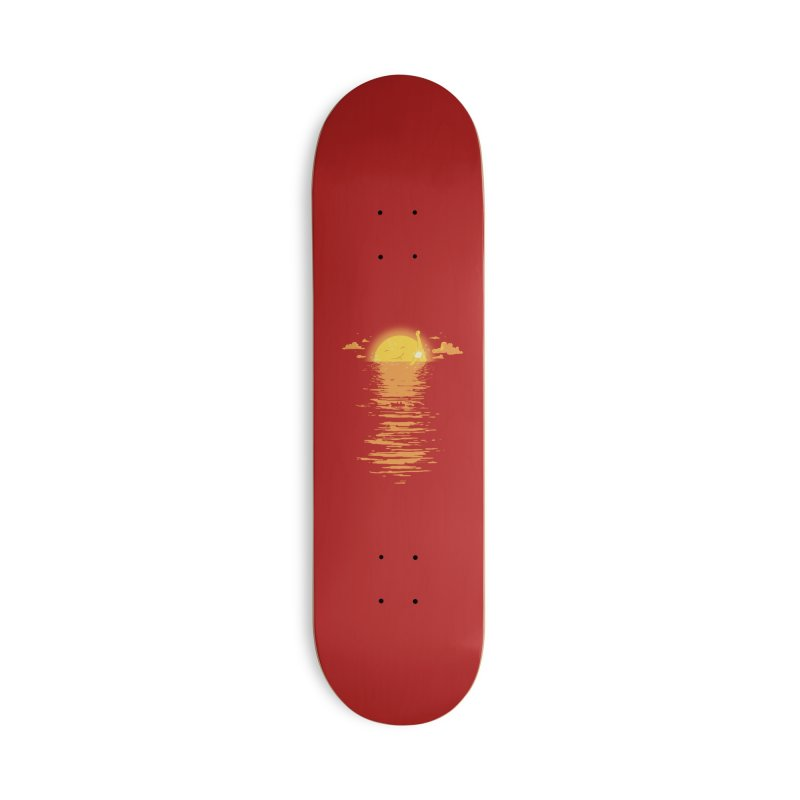 Cooling Down Accessories Skateboard by Threadless Artist Shop