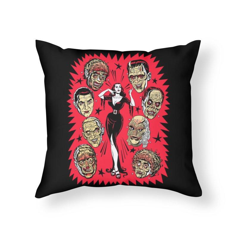 Mystery Date Home Throw Pillow by Threadless Artist Shop
