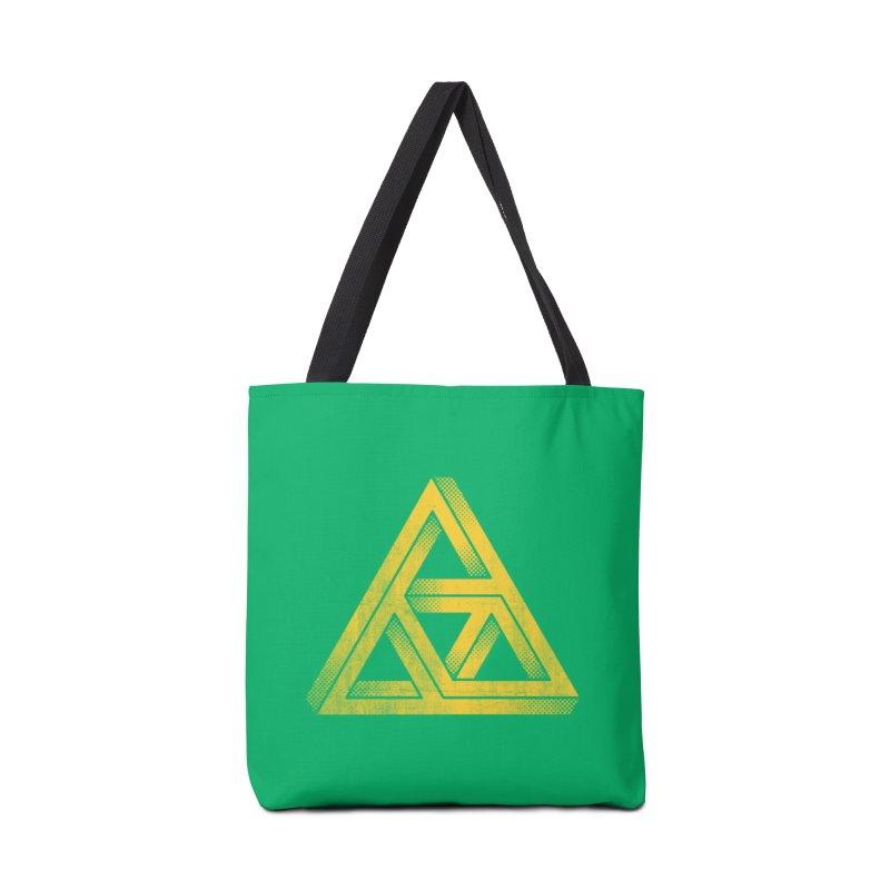 Penrose Triforce Accessories Bag by Threadless Artist Shop