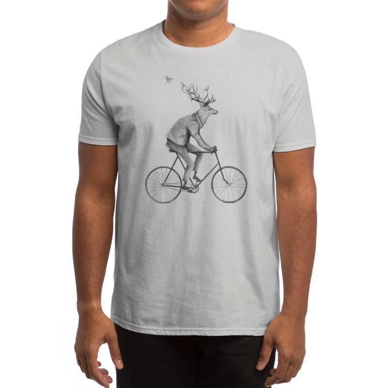 Even a Gentleman rides Men's T-Shirt by Threadless Artist Shop