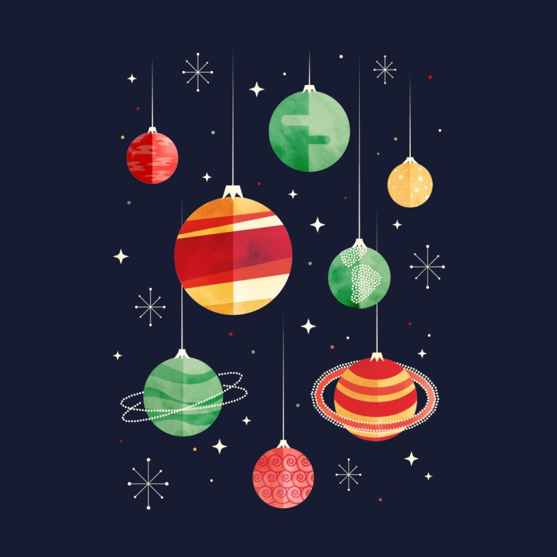 Joy to the Universe Home Fine Art Print by Threadless Artist Shop