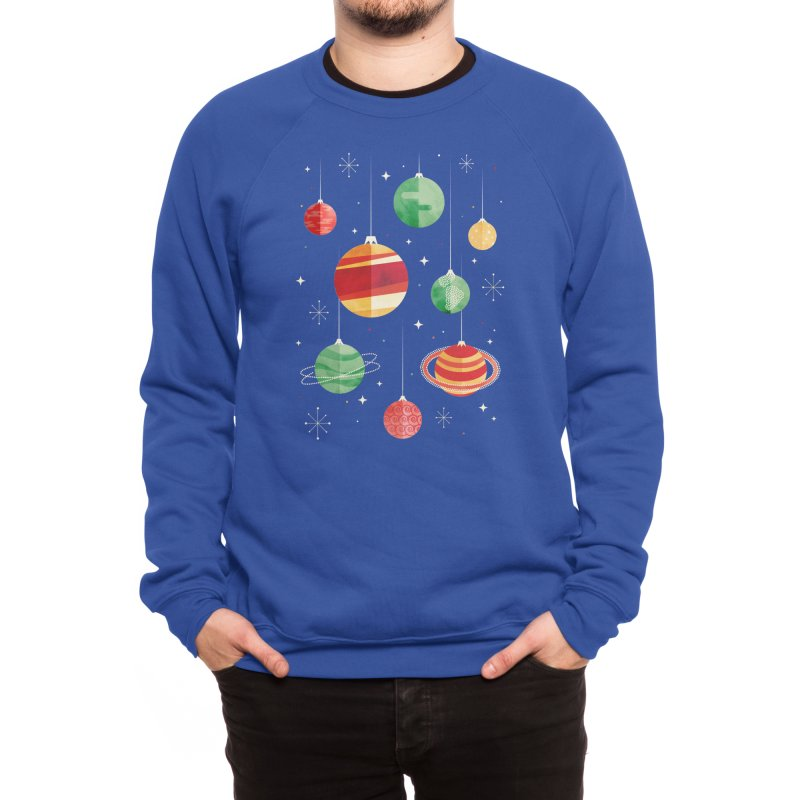 Joy to the Universe Men's Sweatshirt by Threadless Artist Shop