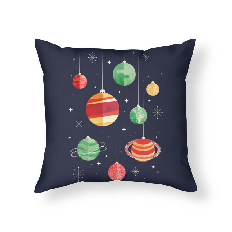 Joy to the Universe Home Throw Pillow by Threadless Artist Shop