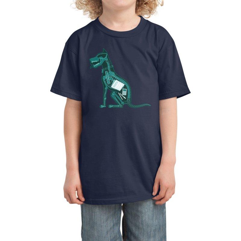 Homework Evidence Kids T-Shirt by Threadless Artist Shop