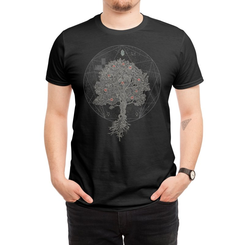 The Tree of Knowledge Men's T-Shirt by Threadless Artist Shop