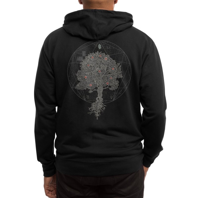 The Tree of Knowledge Men's Zip-Up Hoody by Threadless Artist Shop