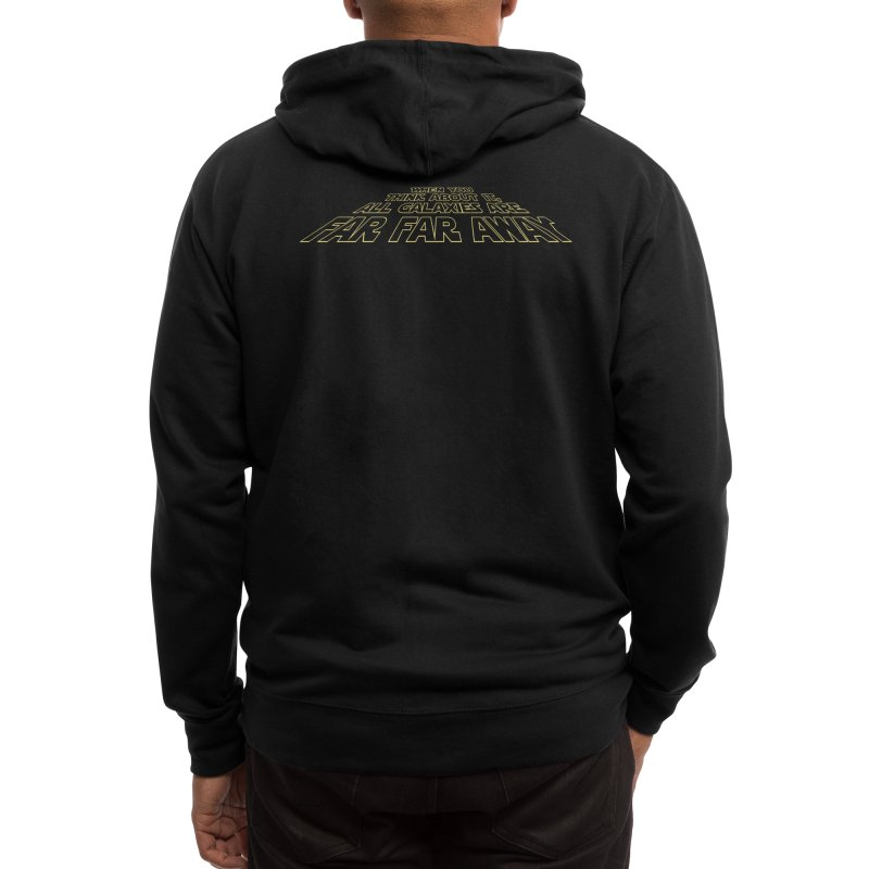When You Think About It, All Galaxies Are Far, Far, Away Men's Zip-Up Hoody by Threadless Artist Shop