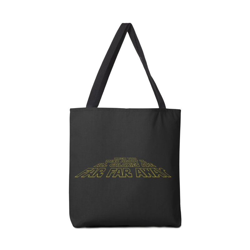 When You Think About It, All Galaxies Are Far, Far, Away Accessories Bag by Threadless Artist Shop