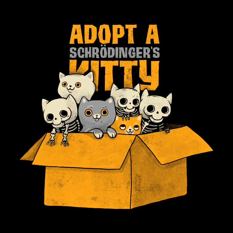 Schrodinger kitties Men's T-Shirt by Threadless Artist Shop