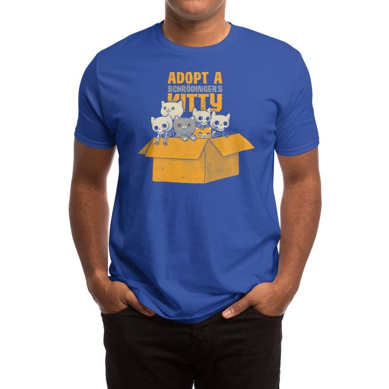 Schrodinger kitties Men's T-Shirt by Threadless Artist Shop