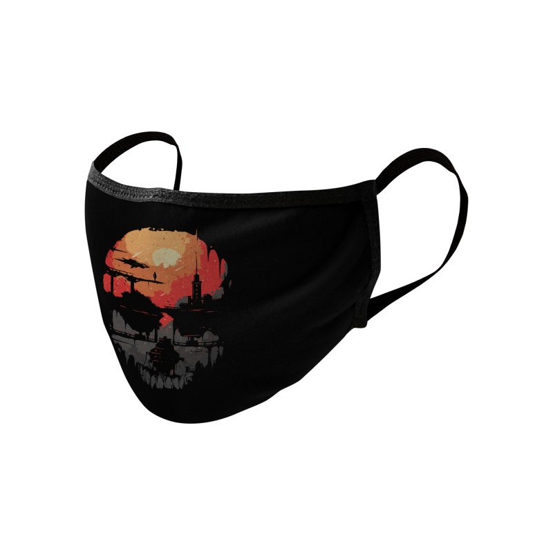 Echo Accessories Face Mask by Threadless Artist Shop