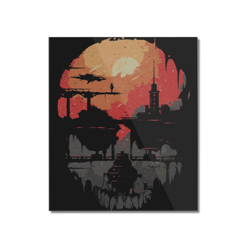 Echo Home Mounted Acrylic Print by Threadless Artist Shop