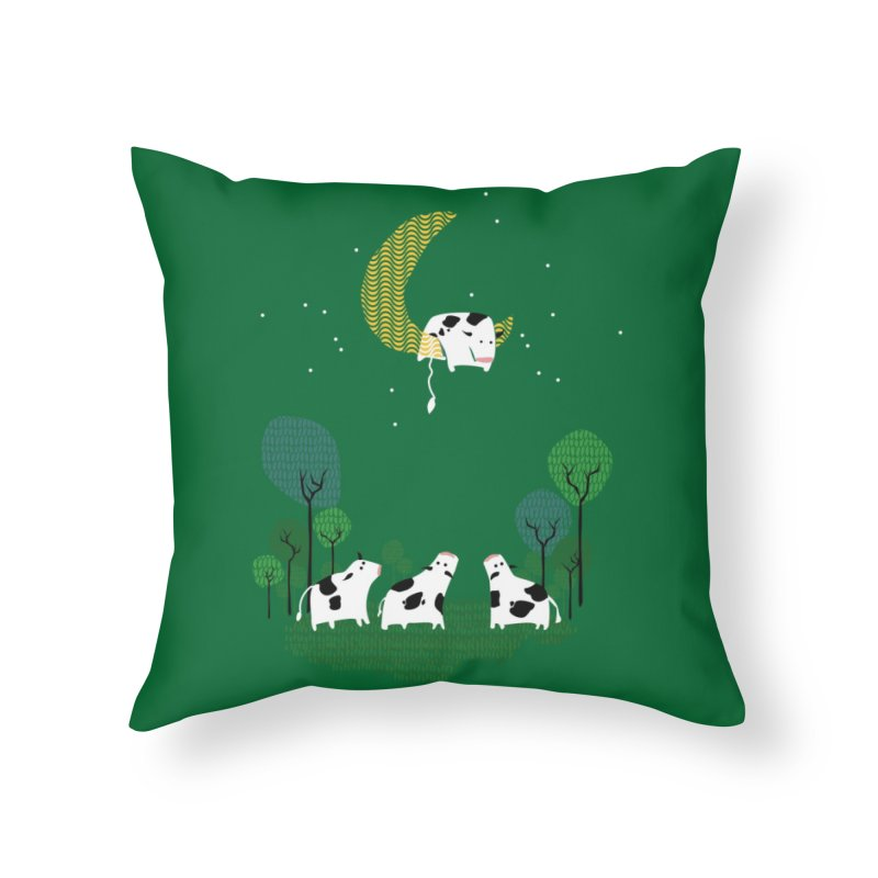Fail Home Throw Pillow by Threadless Artist Shop