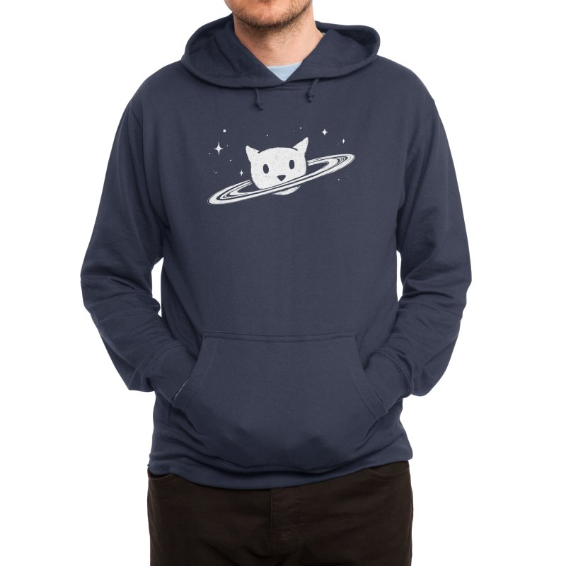 Saturn the Cat Men's Pullover Hoody by Threadless Artist Shop