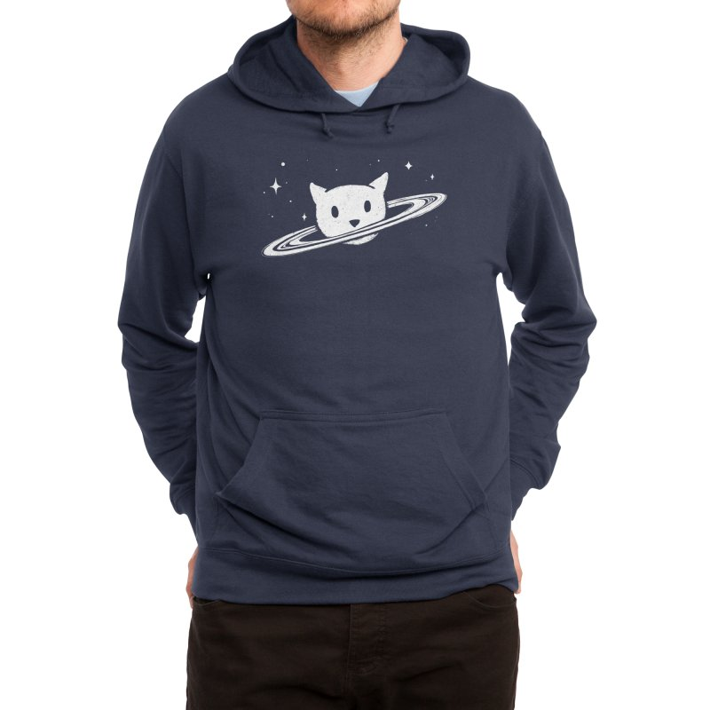 Saturn the Cat Men's Pullover Hoody by Threadless Artist Shop