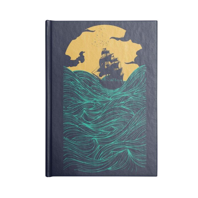 High Seas Accessories Notebook by Threadless Artist Shop