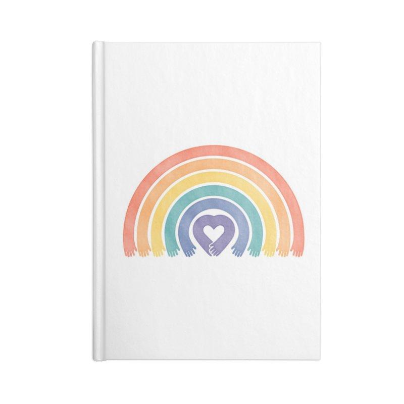 Love All Accessories Notebook by Threadless Artist Shop