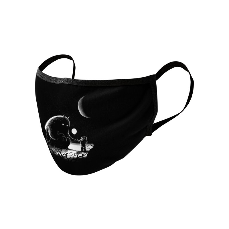 The Guest Accessories Face Mask by Threadless Artist Shop