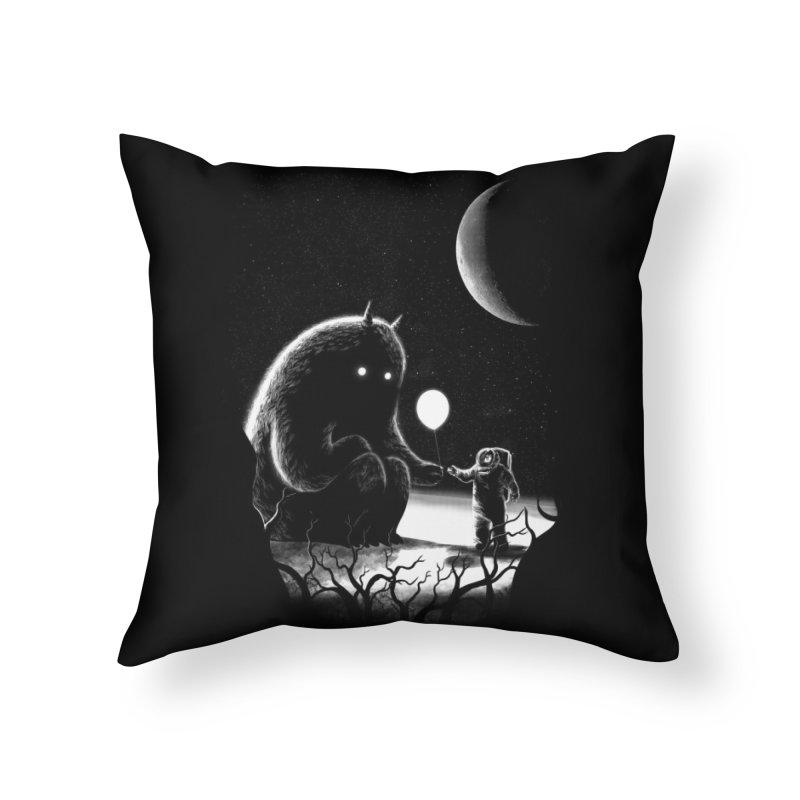 The Guest Home Throw Pillow by Threadless Artist Shop