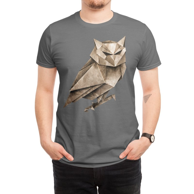 Owligami Men's T-Shirt by Threadless Artist Shop
